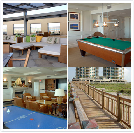 Game Room, Media Room, Boardwalk